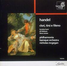 CD HANDEL - clori, tirsi e fileno; Hunt, McGegan