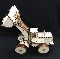 Bausatz Modellbau Schaufel Rad Bagger 3D Modell / Puzzle Kit  Baustellenfahrzeug