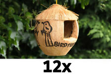 job lot of 12 bird feeder coconut bird feeder wild bird food feeders
