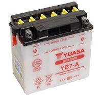 Batterie Moto BSA 1200 500, 600, 650, 750 (12V) Yuasa YB7-A  12v 8Ah