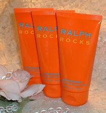 ~3~ RALPH ROCKS  LaUrEn 2.5 oz / 75ml EACH~ Perfume d  Body Lotion Moisturizer ~