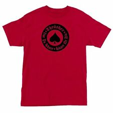 Thrasher Magazine OATH SPADE Skateboard Shirt RED XL