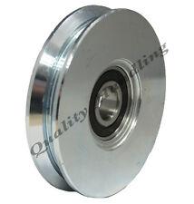 sliding gate wheel pulley wheel 100mm V groove steel wheel vee shape