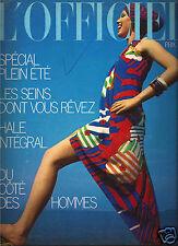 L'Officiel Spring 1973-Lanvin - Cardin-Ungaro-Hermes