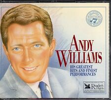 Andy Williams - Greatest Hits & Finest Performances - Readers Digest 3 CD Box
