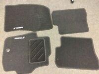 New Genuine Mazda 3 2003 to 2008 Velour Carpet Floor Mat Set BP5RV0320A RHD