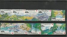 New Zealand 1992 Scenery Booklet Set Used