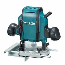 """Makita 3 Stage Cut Depth adjustment 9.5mm (3/8"""")  900W PLUNGE ROUTER"""