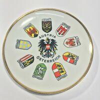 Vintage WMB Austria Osterreich Decorative Collector's Plate -