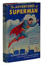 Superman ~ GEORGE LOWTHER ~ First Edition 1st Printing ~ 1942 ~ Dust Jacket