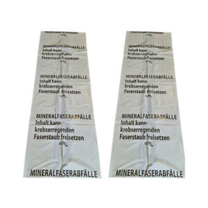 PE-Mineralwollsäcke KMF-PE-Sack 140 x 220 cm Druck Mineralwolle extrastark