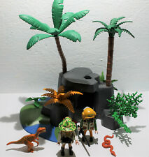 Playmobil Jurrasic World Dino Forscher Höhle