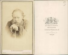 Pierre Joseph Proudhon CDV vintage albumen, Pierre-Joseph Proudhon, né le 15 jan