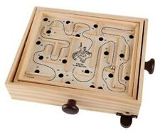 Large Wooden Labyrinth Marble Ball Maze Board Game