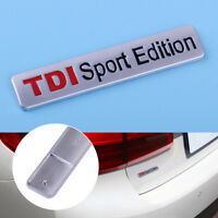 Metal 3D TDI Sport Edition Logo Car Emblem Badge Body Trunk Fender Decal Sticker