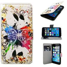 Mobile Phone Card Slot Wallet Leather Cover Case Skin For Apple iPhone 6 6S 4.7""