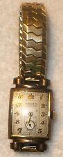 RARE VINTAGE 1940 - 1941 GRUEN CURVEX PRECISION 440 10K GF WRIST WATCH 17 JEWELS