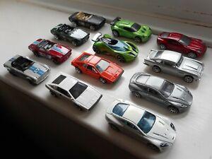 Hot Wheels classic British job lot x12 toy cars Aston Martin Lotus Triumph TR6