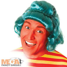Green Oompa Loompa Wig Adults Fancy Dress Book Day Mens Ladies Costume Accessory