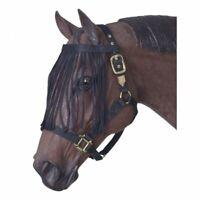 JTI Black Nylon Fly Veil horse tack equine 85-7