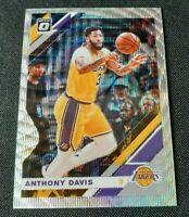 2019-20 Donruss Optic Anthony Davis SP Fanatics Prizm Silver Wave #90 Lakers