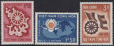 VIETNAM du SUD N°256/258** Boudhisme, 1965 South Viet Nam #255-257 Buddha MNH