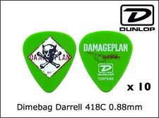 JIM DUNLOP Artist Pick DIMEBAG DARREL Standard Pick x 10pc 0.88mm Free Shipping