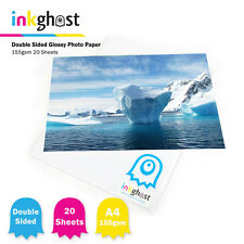 155gsm 20 Sheets Double Sided A4 Premium High Quality Glossy inkjet Photo Paper