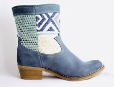 scarpe donna stivale DESIGUAL 40A5612 TG 38 BLU originali 100% listino 160€