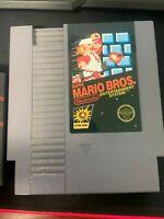 Super Mario Bros Nintendo NES Video Game Cart 5 Screw Version TESTED!!