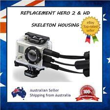 GoPro Hero 2 & HD 1 Skeleton Protective Housing Case - Open Port for USB & Mic
