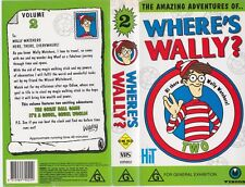 WHERE'S WALLY NUMBER TWO  A  RARE FIND VHS VIDEO PAL~