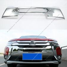 Chrome Front Grille Radiator Guard Trim For Mitsubishi Outlander& PHEV 2016-2019