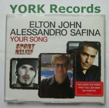 ELTON JOHN  & ALESSANDRO SAFINA - Your Song - Ex Con CD Single Rocket 0639972