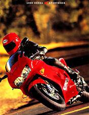 1998 HONDA SPORTBIKES MOTORCYCLE BROCHURE -CBR1100-VTR1000-CBR900-VFR800-CBR600