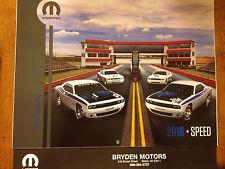 2016 Mopar Speed Calendar, Dodge, Hemi