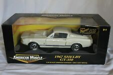 American Muscle 1967 Shelby GT350 in White1:18 Scale