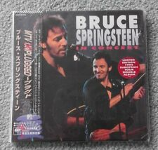 Bruce Springsteen - MTV Unplugged - Original MINI LP CD Issue From Japan - NEW