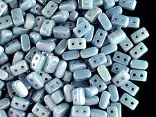 CHOOSE COLOR! 50pcs IOS ®par Puca Beads,Czech Glass Pressed