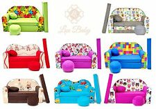 LUXBABY MAXX Kindersofa Bettfunktion 3in1 Sofa Ausziehbett Couch 66 Modelle TOP