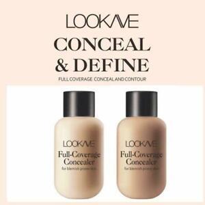 Face Concealer Full Cover Makeup Waterproof Liquid Color Skin Cream T9N8