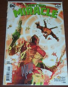 Mister Miracle #9! (2017) Rare Variant! Signed by A/VCA Mitch Gerads! NM! COA!