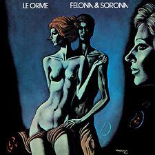 LE ORME Felona & Sorona ITA. version (Ltd.ed. cleargreen vinyl ) LP Italian Prog