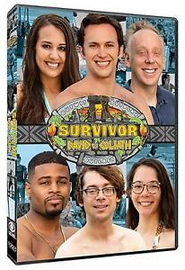 SURVIVOR 37 (2018) David vs Goliath - Idols Exile + more US TV Season R1 DVD sp