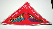 Vintage Rare Seafair Texaco Cup Hydro Foil Boat Racing 1993 Race Team Patch New
