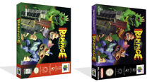 Rampage World Tour N64 Replacement Game Case Box + Cover Art Artwork (No Game)