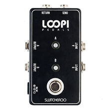 Switcheroo Pedal - Acoustic/Electric Rig Switcher - True Bypass - Loopi Pedals