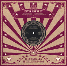 "ELVIS PRESLEY US EP COLLECTION 4 10"" White ltd edition RARE Collectable Pressing"