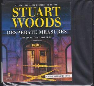 DESPERATE MEASURES by STUART WOODS ~UNABRIDGED CD AUDIOBOOK