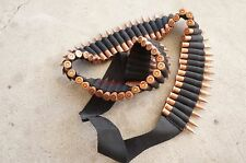 65 Shell Bandolier Ammo Belt Sling Black fits most of rifles